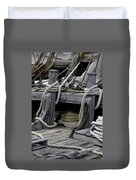 Rope Course Duvet Cover