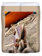 Ropes And Chains Duvet Cover