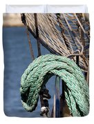Ropes And Rigging Duvet Cover