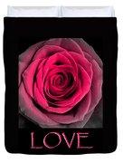 Rose 33 Love Duvet Cover