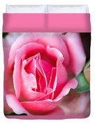 Rose And Bud Duvet Cover