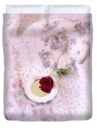 Rose And Mirror Duvet Cover