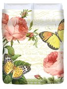 Rose Blush-a Duvet Cover