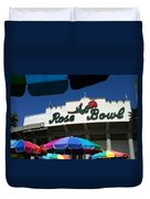 Rose Bowl Duvet Cover