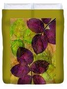 Rose Clippings Mural Wall Duvet Cover