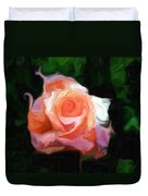 Rose Colored Duvet Cover