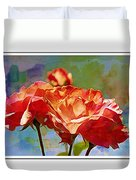 Rose Colours Duvet Cover