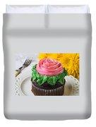 Rose Cupcake Duvet Cover