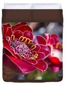 Rose De Porcelaine Duvet Cover