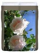 Rose Duo Duvet Cover