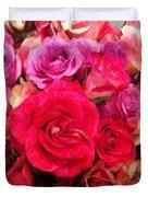 Rose Enhanced Duvet Cover