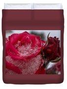 Rose Flakes 1 Duvet Cover
