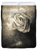 Rose From Another Day Duvet Cover