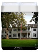 Rose Hill Manor Duvet Cover