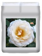 Rose In The Garden Duvet Cover