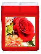 Rose Is A Rose Duvet Cover