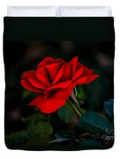 Rose Is A Rose Duvet Cover by Robert Bales