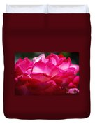 Rose Like A Lotus Flower Duvet Cover