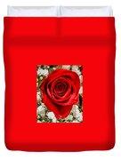 Rose Macro 1 Duvet Cover