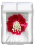 Rose Mallow - Honeymoon White With Eye 03 Duvet Cover