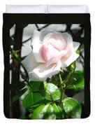 Rose Named Pearl Duvet Cover