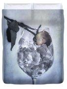 Rose On The Rocks Duvet Cover by Joana Kruse