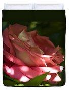 Rose Pink Duvet Cover