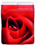 Rose Red Duvet Cover by Darren Fisher
