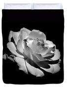 Rose Duvet Cover by Rona Black