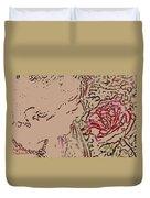 Rose Smell Duvet Cover