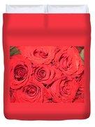 Rose Swirls Duvet Cover