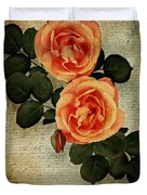 Rose Tinted Memories Duvet Cover