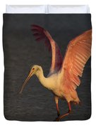 Roseate Spoonbill Photograph Duvet Cover
