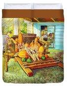 Rosebank Farm Cart Duvet Cover