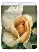 Rosebud After The Rain Duvet Cover