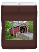 Rosehill Covered Bridge Duvet Cover