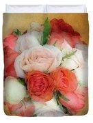 Roses Antiqua Duvet Cover