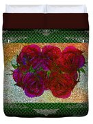 Roses- Featured In Beautiful Roses And Comfortable Art Groups Duvet Cover