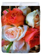 Roses Florentine Duvet Cover