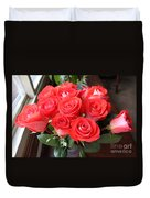 Roses For Mother Duvet Cover