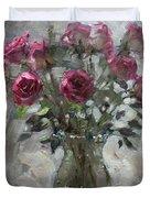 Roses For Viola Duvet Cover