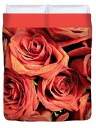 Roses For Your Wall  Duvet Cover