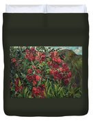 Roses In The Mountains Duvet Cover