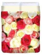 Roses Of Love Duvet Cover