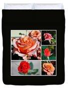 Roses Roses Roses I Thank All The Roses Duvet Cover
