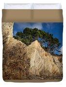 Ross Creek Cliffs Duvet Cover