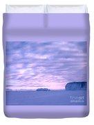Ross-iceshelf-g.punt-2 Duvet Cover