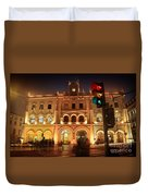 Rossio Train Station Duvet Cover