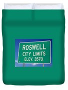 Roswell New Mexico Duvet Cover