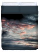 Rosy Clouds Duvet Cover